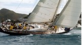 Racing sail yacht Kings Legend